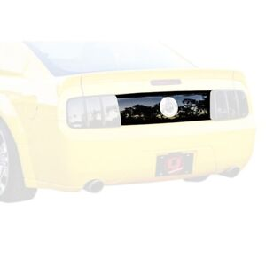 Fits 05-09 Mustang V6 GT GTS Smoke Acrylic Taillight Center Panel Cover GT4193