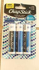 ChapStick Lip Moisturizer and Skin Protectant (Original Flavor, 1 Blister 3 NEW