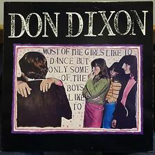 DON DIXON most of the girls like to dance but only some of the boys like to Mint