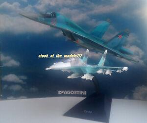 SU-34 1:150 Deagostini Soviet air force diecast collectible model+magazine