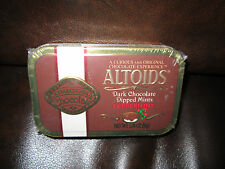 ALTOIDS Peppermint Dark Chocolate Dipped Mints (One Sealed collectors Tin) RARE!