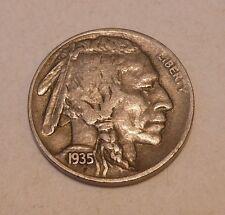 Buffalo Nickel 1935 D EF
