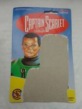 1993 VIVID IMAGINATIONS CAPTAIN SCARLET - LIEUTENANT GREEN FIGURE BACKING CARD