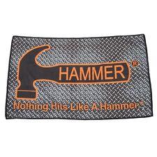 Hammer Dye Sub Diamond Plate Bowling Ball Towel