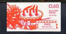 GB 1983 FS1A BIRTHDAY BOX £1.60 BOOKLET (REVISED RATE)
