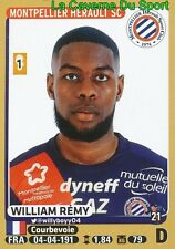 275 WILLIAM REMY # MONTPELLIER.HSC DIJON.FCO STICKER PANINI FOOT 2016
