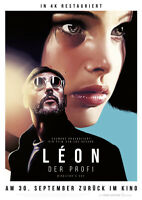 LEON DER PROFI: DIRECTORS CUT - Orig.Kino-Plakat A1 - Natalie Portman - Gerollt