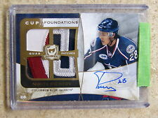08-09 UD The Cup Foundations Quad Patch Auto NIKITA FILATOV /5