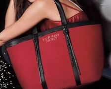 Victoria's Secret Red Fringe Tote Bag New With Tag.