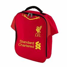 LIVERPOOL FC SHIRT INSULATED LUNCH BAG NEW FOOTBALL SCHOOL