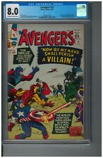 "The Avengers #15 (1965); CGC 8.0; ""Death"" of Baron Zemo"