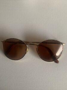 Giorgio Armani Round Sunglasses
