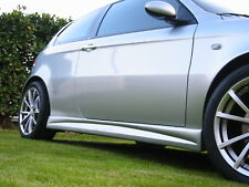 MINIGONNE / SIDE SKIRTS in ABS mod. GARBINO Style per Alfa Romeo 147 3 e 5 porte