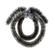 Nabenputzringe schwarz+silber 14mm, 35cm /35cm  Messingschlager