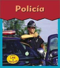 Policia = Policeman (Esto Es Lo Que Quiero) (Spanish Edition)-ExLibrary