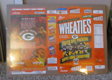 VINTAGE WHEATIES BOX GREEN BAY PACKERS SUPER BOWL XXXI CHAMPS SHRINK WRAPPED