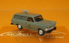 Wiking 007148 Fernmeldedienst Opel Rekord '60 Caravan Scale 1 87