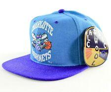 Brand New NBA Grossman Cap Vintage CHARLOTTE HORNETS Snapback Hat