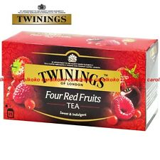 Twinings of London Four Red Fruits Tea 2g x 25 bags (sweet & indulgent)