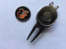 Mlb Baltimore Orioles Golf Ball Marker and Magnetic Divot Tool