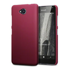 Genuine High Impact Rubberised Case Micro Thin Bumper Red Microsoft Lumia 659
