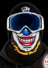 SA CO Official Twisted Twisty Clown Frost Tech Thermal Fleece Face Shield Gaiter