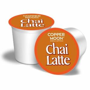 Copper Moon Chai Latte 12 to 84 Keurig K cup Pods Pick Any Size FREE SHIPPING