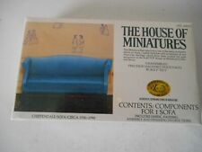New ListingHouse Of Miniatures Chippendale Sofa Kit 1:12 Scale for dollhouse