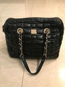 Kate Spade Black Quilted Handbag