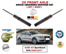FOR AUDI A5 Sportback 8TA 2009-2017 2X FRONT LEFT RIGHT SHOCK ABSORBERS SET