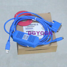 USB-SC09 programming PLC Cable RS422 adapter for MELSEC FX & A win10/8/7 vista