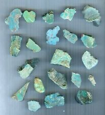 #1-6 Turquoise Rough For Cabochons - 1/4 Lb. - Arizona