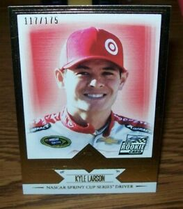 KYLE LARSON #33 2014 PRESS PASS TOTAL MEMORBILIA GOLD NUMBERED ROOKIE 117/175 MD