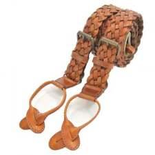 The British Belt Company Turner Tan Leather Braces