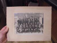 Ancienne Photographie Conscrits Beaujolais Classe 1924 Photo Romanèches Thorins