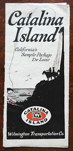 Catalina Island California c. 1910 Vacation illustrated travel brochure