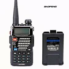 Baofeng UV-5RB Two Way Radio Scanner Police Fire Dual Band Portable Transceiver