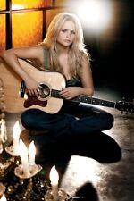 Miranda Lambert Guitar Poster 24x36