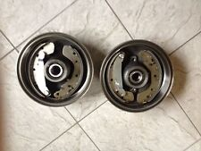 MAZDA 2  02-07 TWO REAR BRAKE DRUMS WITH  FITTED WHEEL BEARINGS  BRAKE SHOES