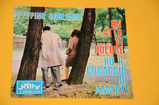 """7"""" 45 (NO LP ) SOLO COPERTINA PEPPINO GAGLIARDI UN ATTO DI DOL ORIG ITALY '60 EX"""