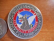 Americas Oldest 4th Airlift Sqaudron 4th AS McCHORD AFB USAF Challenge Coin 1629