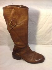 Nine West Brown Knee High Leather Boots Size 39