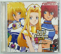 Tales of Fandom Volume 1 - Jeu Playstation PS1 - NTSC J JAP