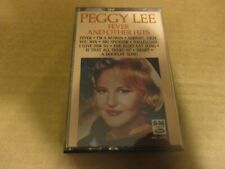 1984 PEGGY LEE Fever & Other Hits Cassette Tape Capitol 4XL 9095 NM