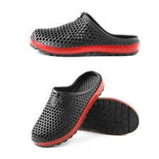 Mens Summer Beach Slipper Light Sandals Shoes Boys Soft House Shoes US10.5 Black