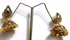 Gold Stone Oxidized Fancy Jhumka Jhumki Women Teen Girls Dangler Indian earrings