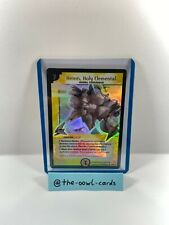 Duel Masters Card -Amnis, Holy Elemental- L3/6 Y1, English, NM, Super Rare Promo