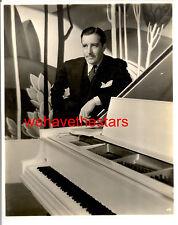 Vintage John Boles QUITE HANDSOME PIANO 30s DBW Publicity Portrait by RAY JONES