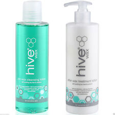 THE HIVE Pre Cleanser spray & After Wax Lotion With Tea Tree Oil 400ml