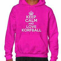 keep calm and love Korfball Sudadera Con Capucha